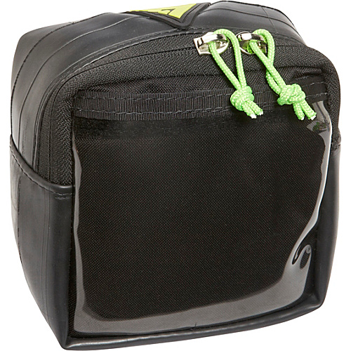 Green Guru Dash Handlebar Bag Black - Green Guru Sport Bags