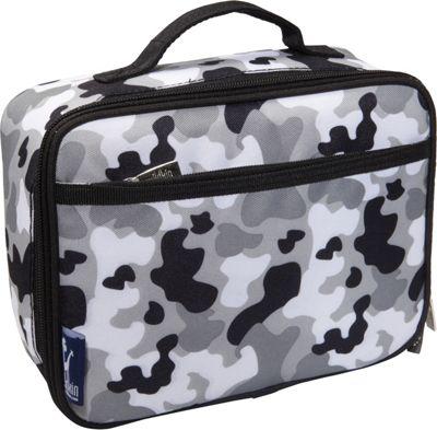 Wildkin Gray Camo Lunch Box Grey Camo - Wildkin Travel Coolers