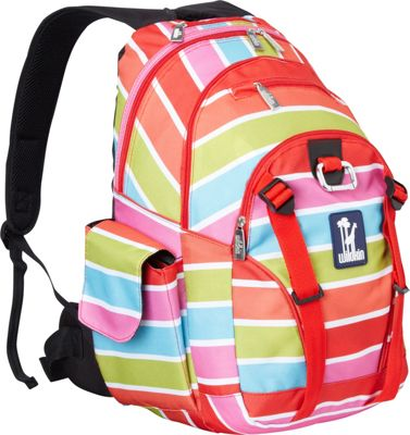 Wildkin Bright Stripes Serious Backpack Bright Stripes - Wildkin Everyday Backpacks