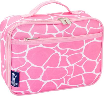 Wildkin Pink Giraffe Lunch Box Pink Giraffe - Wildkin Travel Coolers