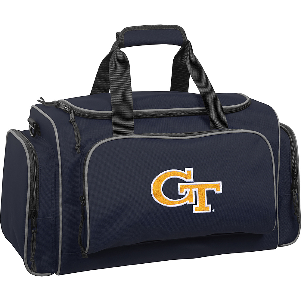 Wally Bags Georgia Tech Yellow Jackets 21 Collegiate Duffel Navy Wally Bags Rolling Duffels