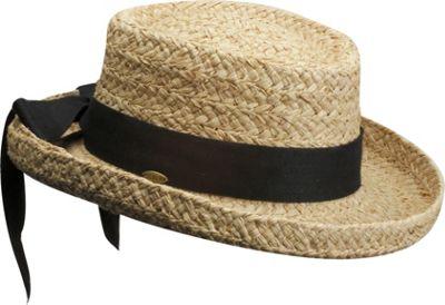 Scala Hats Petite Braid Raffia One Size - Natural - Scala Hats Hats/Gloves/Scarves