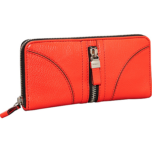 Milly Jayden Zip Around Red - Milly Designer Ladies Wallets