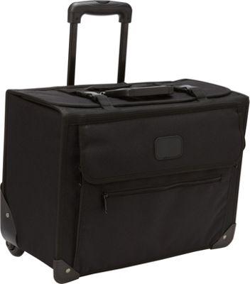 Bellino Rolling Computer Office Porter Black - Bellino Wheeled Business Cases