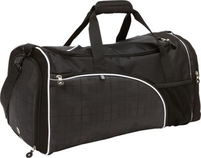 "Image of Bellino 20"" Matrix Duffle Bag Black - Bellino Travel Duffels"