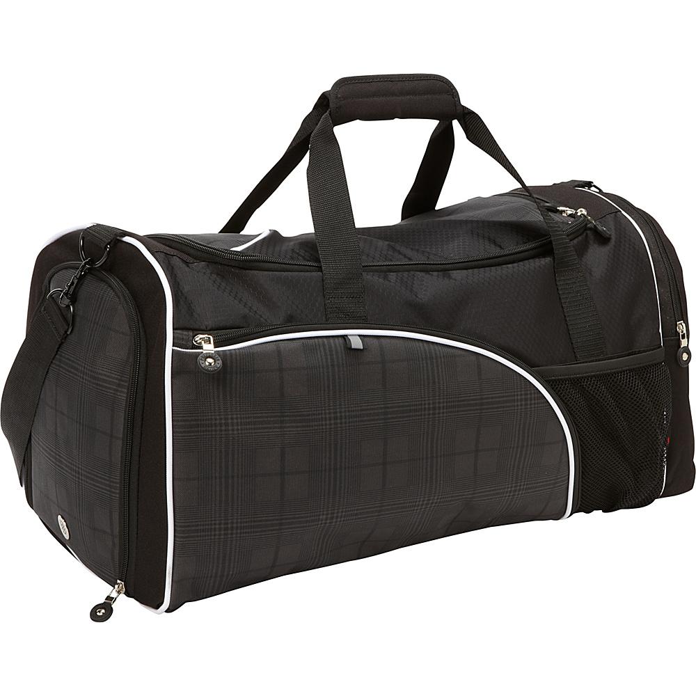"Bellino 20"" Matrix Duffle Bag Black - Bellino Travel Duffels"