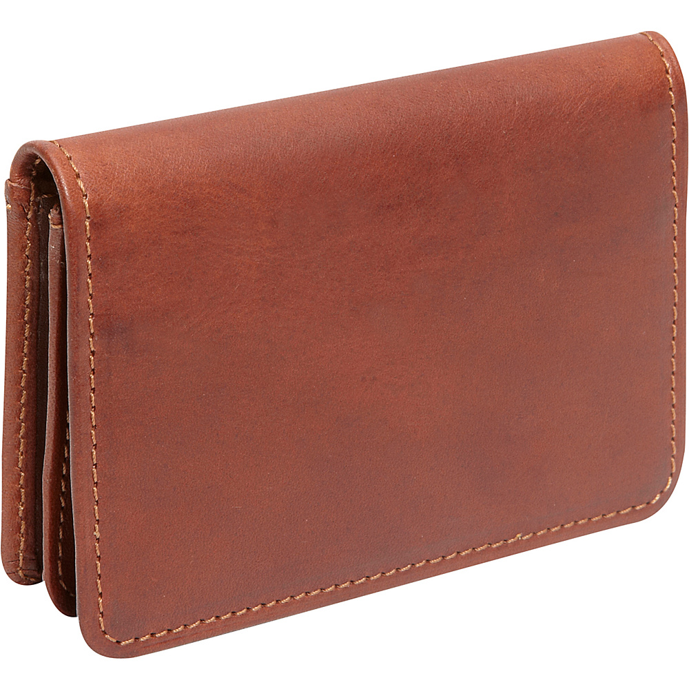 Derek Alexander Business Card Case British Tan - Derek Alexander Business Accessories - Work Bags & Briefcases, Business Accessories