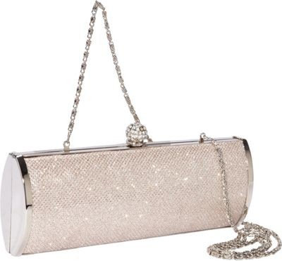 Coloriffics Textured Glitter Handbag with Metal Frame