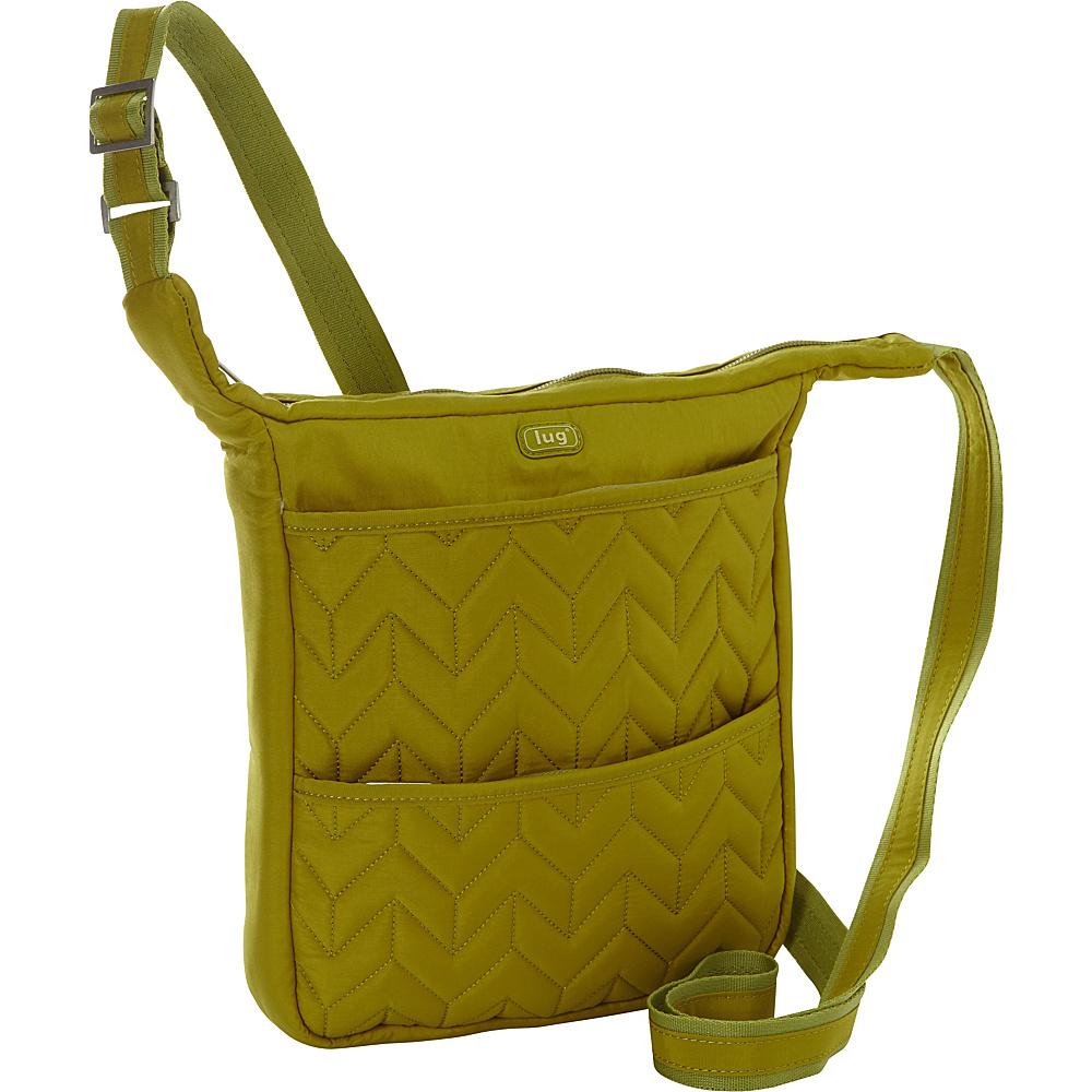 Lug Compass Shoulder Pouch Grass Lug Fabric Handbags