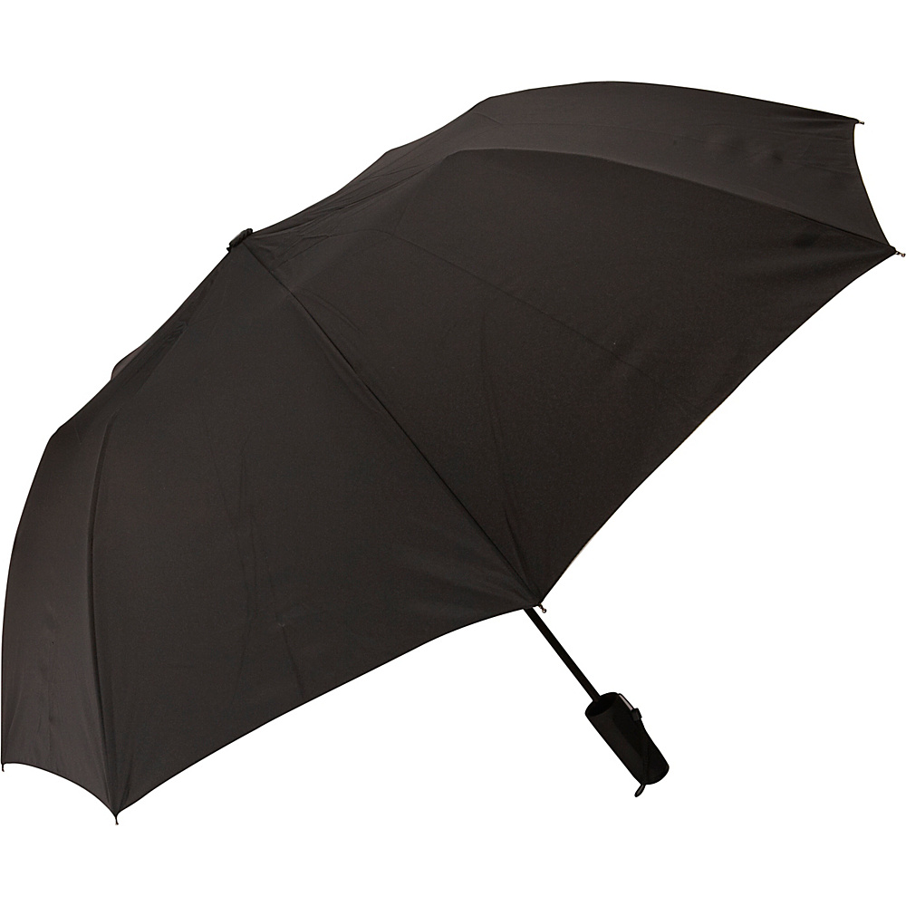 Samsonite Travel Accessories Auto Open Travel Umbrella Black Samsonite Travel Accessories Umbrellas and Rain Gear
