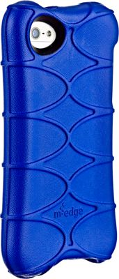 M-Edge SuperShell for iPhone SE/5 Cobalt - M-Edge Electronic Cases