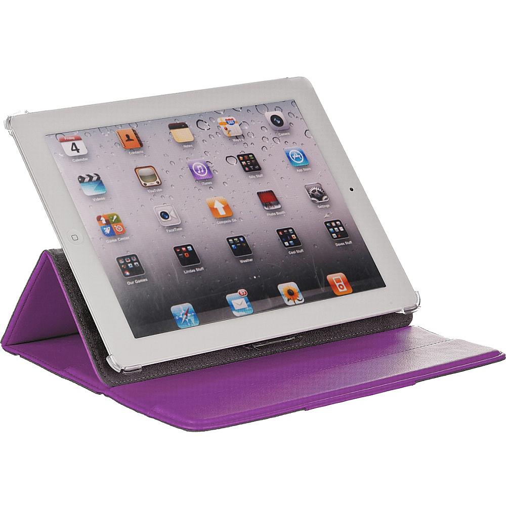 M-Edge Incline Case for iPad 4,  iPad 3 and iPad 2 Purple - M-Edge Electronic Cases