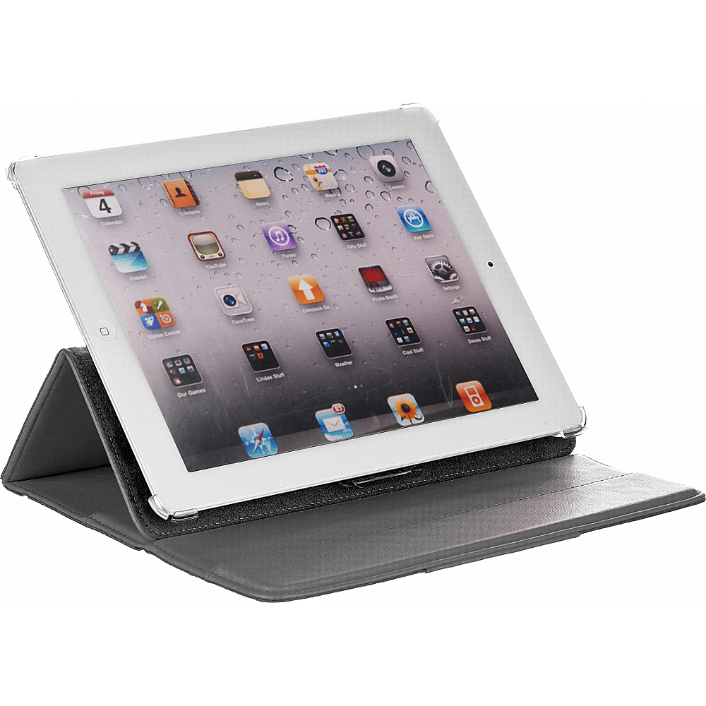 M Edge Incline Case for iPad 4 iPad 3 and iPad 2 Grey M Edge Electronic Cases