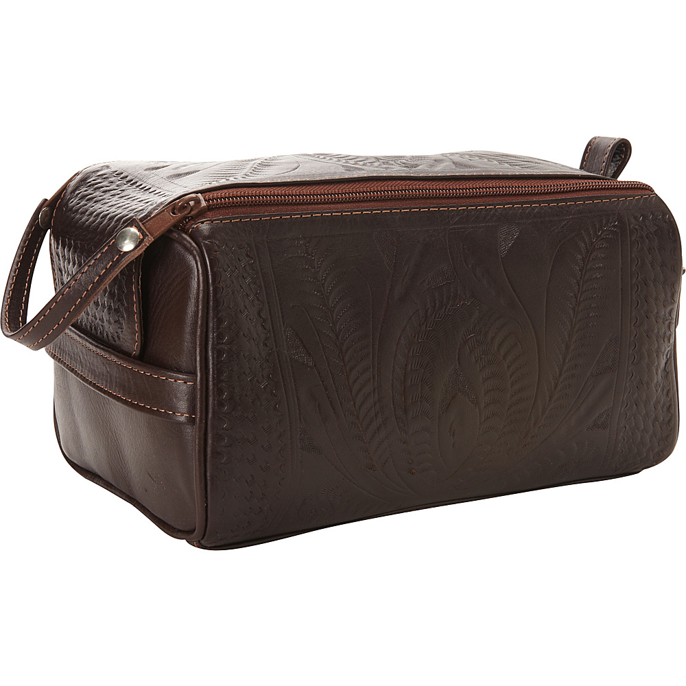 Ropin West Toiletry Bag Brown Ropin West Toiletry Kits