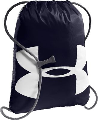 Under Armour Ozsee Sackpack Midnight Navy/Graphite/White/White - Under Armour Everyday Backpacks