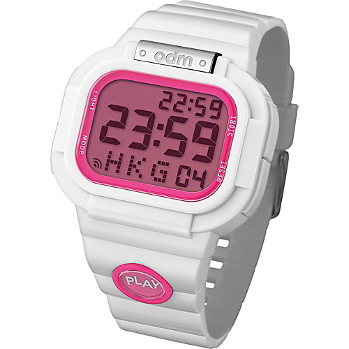 o.d.m. Watches Play White/Pink - o.d.m. Watches Watches