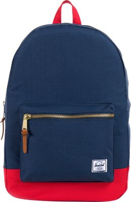 Herschel Supply Co. Settlement Laptop Backpack - 15 inch Navy / Red - Herschel Supply Co. Business & Laptop Backpacks