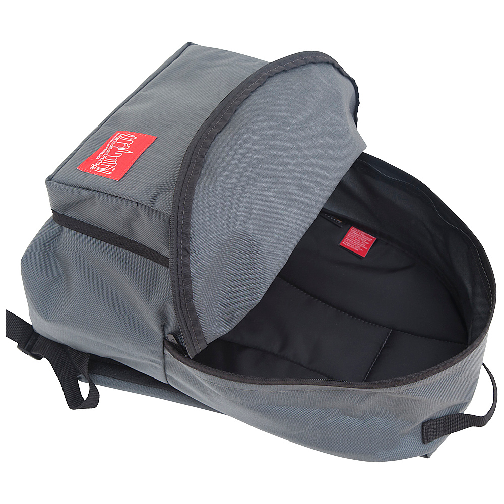 Manhattan Portage Big Apple Backpack (LG) Gray - Manhattan Portage Everyday Backpacks