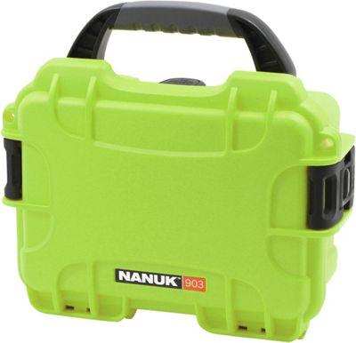 NANUK 903 Water Tight Protective Case w/ Foam Insert Lime - NANUK Camera Accessories