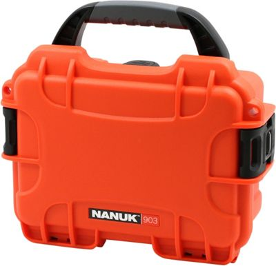 NANUK 903 Water Tight Protective Case w/ Foam Insert Orange - NANUK Camera Accessories