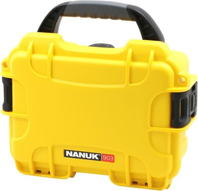 NANUK 903 Water Tight Protective Case w/ Foam Insert Yellow - NANUK Camera Accessories
