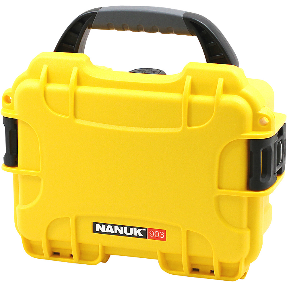 NANUK 903  Case with 3 part foam insert Yellow - NANUK Camer