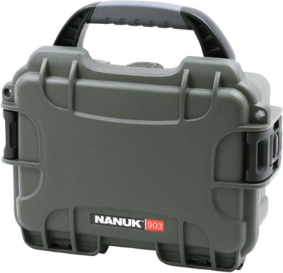 NANUK 903 Water Tight Protective Case w/ Foam Insert Olive - NANUK Camera Accessories