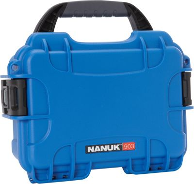NANUK 903 Water Tight Protective Case w/ Foam Insert Blue - NANUK Camera Accessories