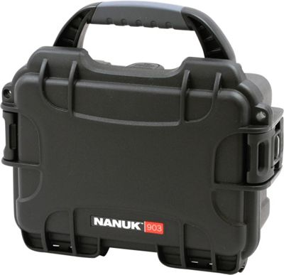 NANUK 903 Water Tight Protective Case w/ Foam Insert Black - NANUK Camera Accessories