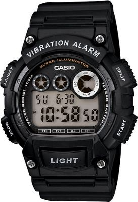 Casio Casio Men's Digital Sport Watch Black - Casio Watches