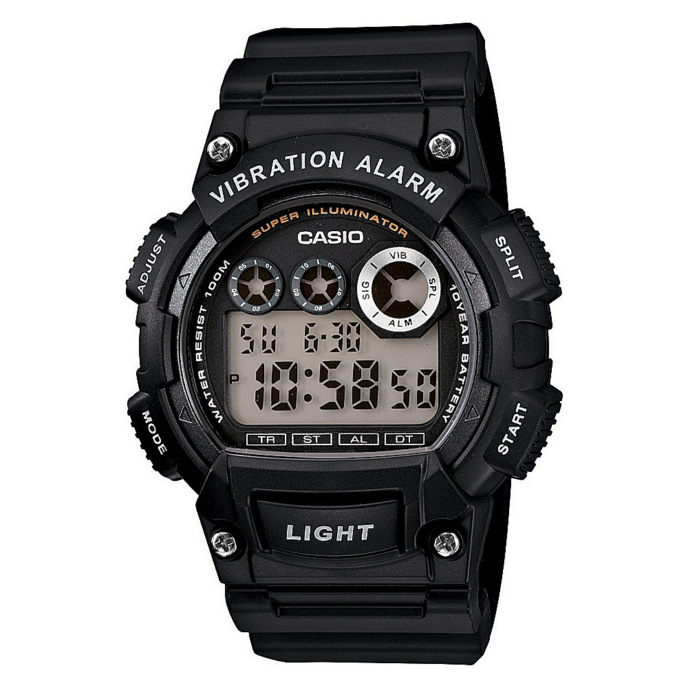 Casio Men's Digital Sport Watch Black - Casio Watches
