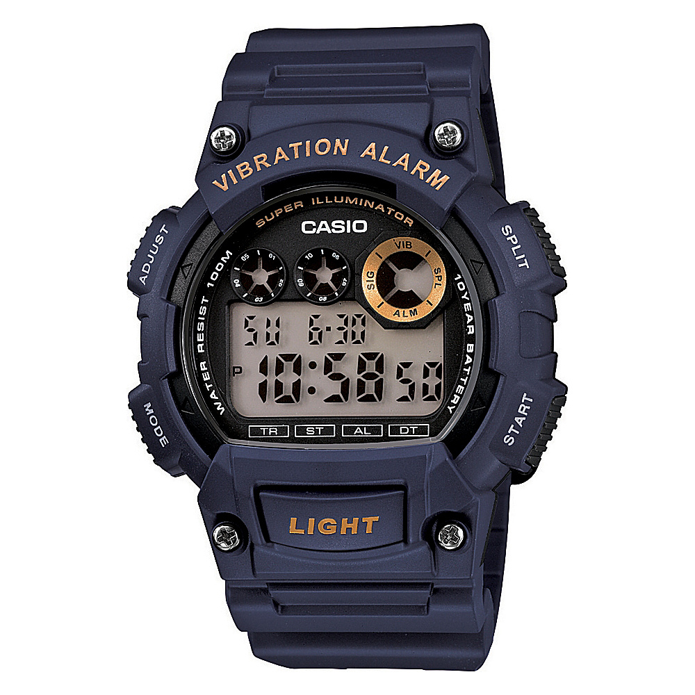 Casio Men's Digital Sport Watch Blue - Casio Watches