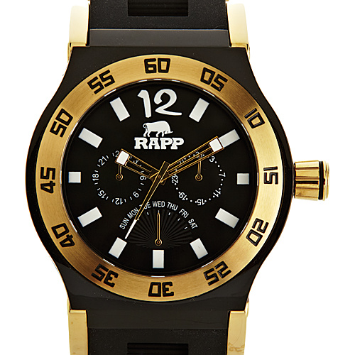 RAPP Watches Pink Naples Multi-Function Watch Gold Black - RAPP Watches Watches