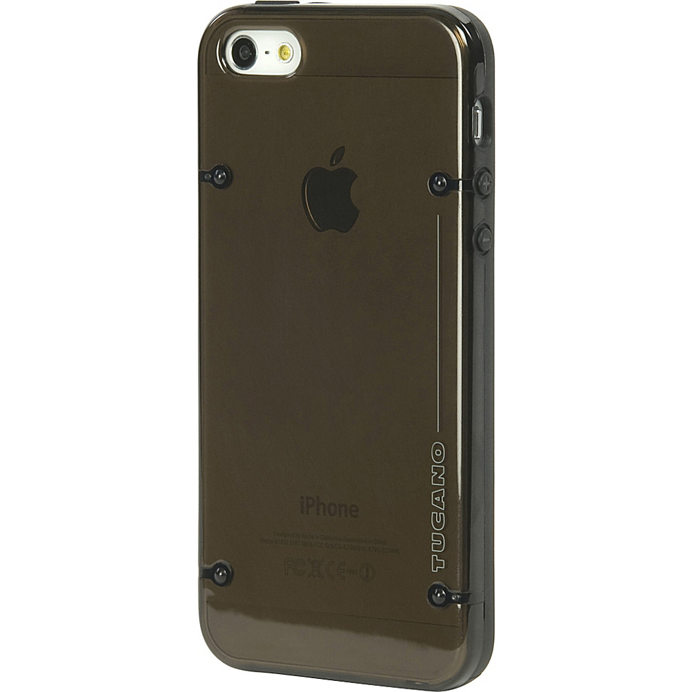 Tucano Tecno Back Cover For iPhone SE/5 Black - Tucano Personal Electronic Cases