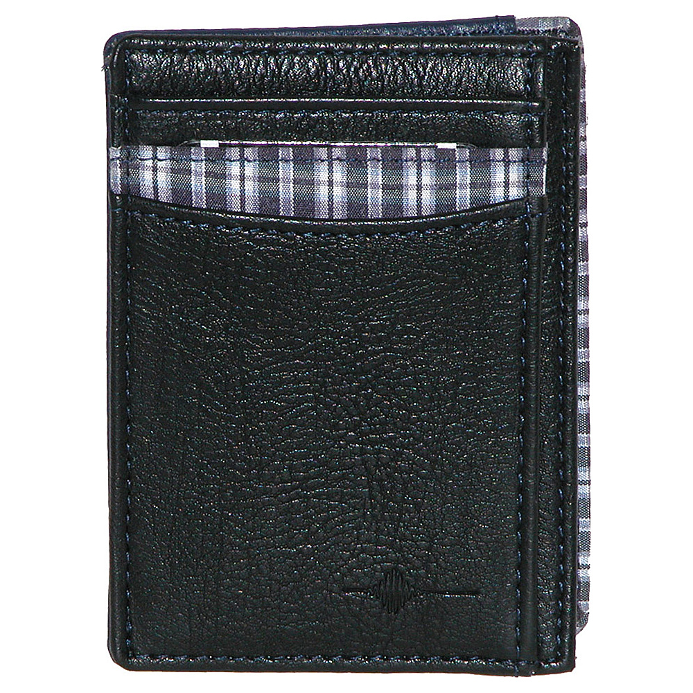Buxton Tulsa RFID Front Pocket Get-Away Black - Buxton Mens Wallets - Work Bags & Briefcases, Men's Wallets