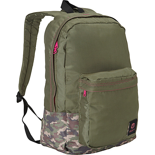 Roxy Musing Backpack Grape Leaf - Roxy School & Day Hiking Backpacks