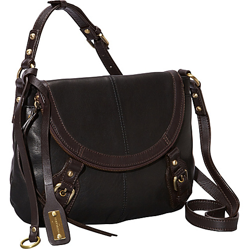 Lucky Brand Buckman Crossbody Black - Lucky Brand Leather Handbags