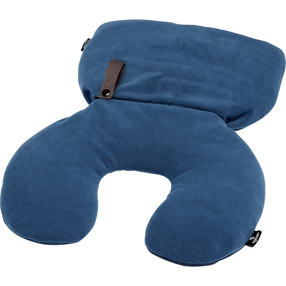 Eagle Creek 2-in-1 Travel Pillow Charcoal - Eagle Creek Travel Pillows & Blankets