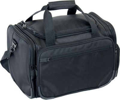 Netpack 16 inch 1680 D Ballistic Poly Travel  Duffel Black - Netpack Rolling Duffels