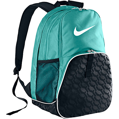 UPC 883418908386 product image for Nike Brasilia 6 XL Backpack LIGHT AQUA  BLACK   ... d596169c0b