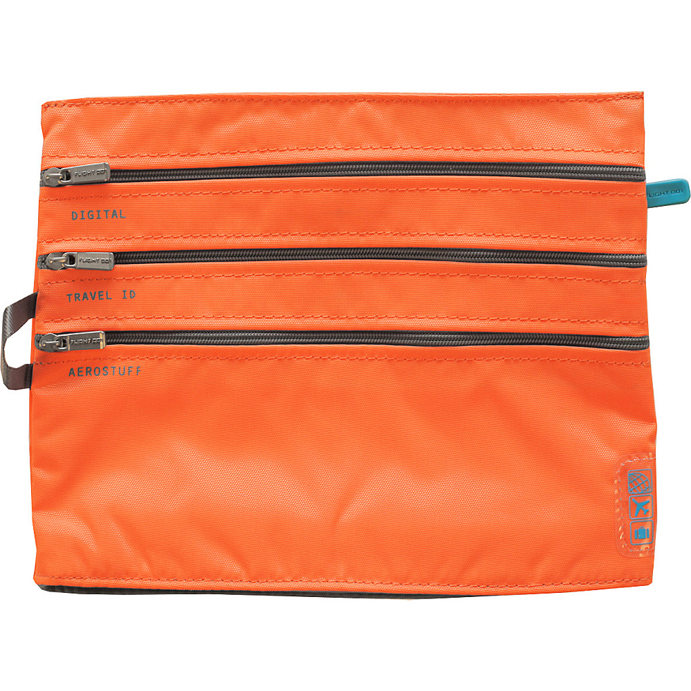 Flight 001 Seat Pak Orange Flight 001 Travel Organizers