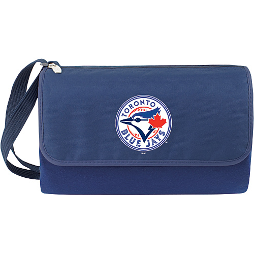 Picnic Time Blanket Tote - MLB Teams Toronto Blue Jays - Navy - Picnic Time Travel Comfort and Health