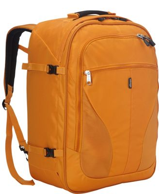 eBags eTech 2.0 Weekender Convertible Junior Dark Cheddar (Limited Edition) - eBags Travel Backpacks