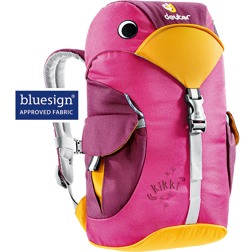 Deuter Kikki Backpack magenta blackberry Deuter Everyday Backpacks
