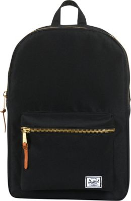 Herschel Supply Co. Settlement Mid-Volume Laptop Backpack Black - Herschel Supply Co. Business & Laptop Backpacks
