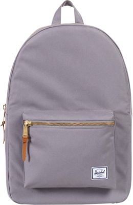 Herschel Supply Co. Settlement Mid-Volume Laptop Backpack Grey - Herschel Supply Co. Business & Laptop Backpacks
