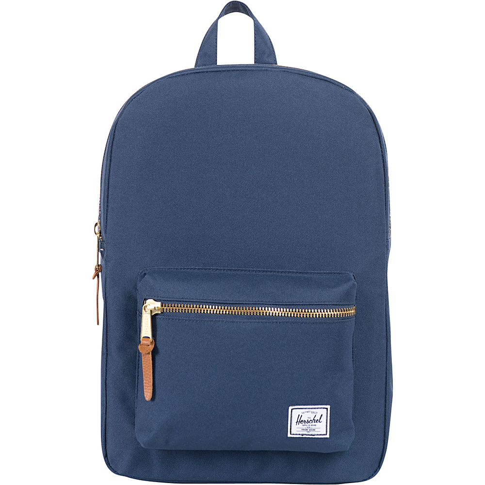 Herschel Supply Co. Settlement Mid Volume Laptop Backpack Navy Herschel Supply Co. Business Laptop Backpacks