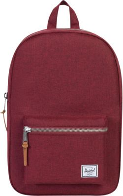 Herschel Supply Co. Settlement Mid-Volume Laptop Backpack Winetasting Crosshatch - Herschel Supply Co. Business & Laptop Backpacks