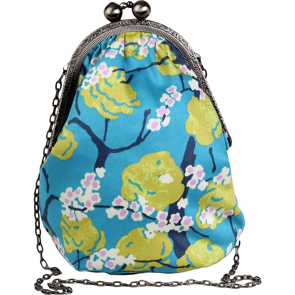 Amy Butler for Kalencom Pretty Lady Mini Bag Fairy Tale Azure - Amy Butler for Kalencom Fabric Handbags