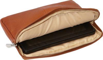 Piel iPad Mini & 7 inch Tablet Sleeve Chocolate - Piel Electronic Cases